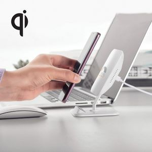Qi certified 2-in-1 charger and phone stand