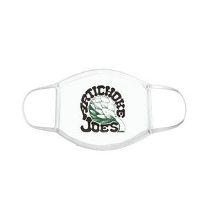 Full Color Custom Face Masks with Your Design or Blank